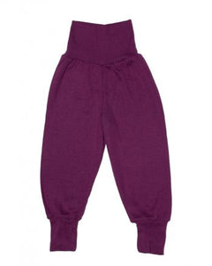 Wool & Silk Baby Pants