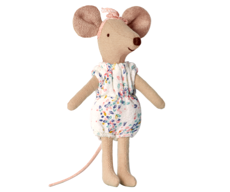 Big Sister Mouse in Romper