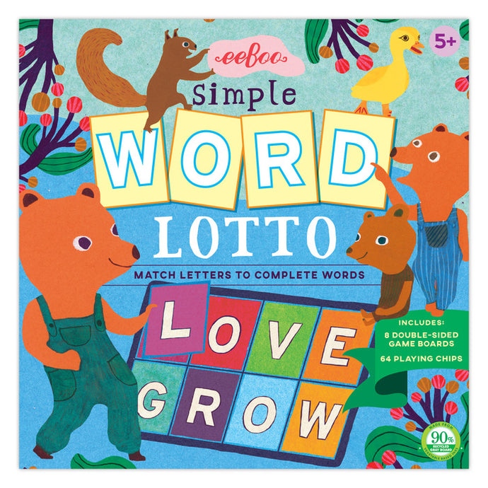 Simple Word Lotto Game