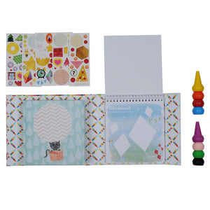 Oodle Doodles Crayon Set Shapes