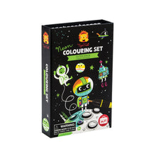 Neon Coloring Sets