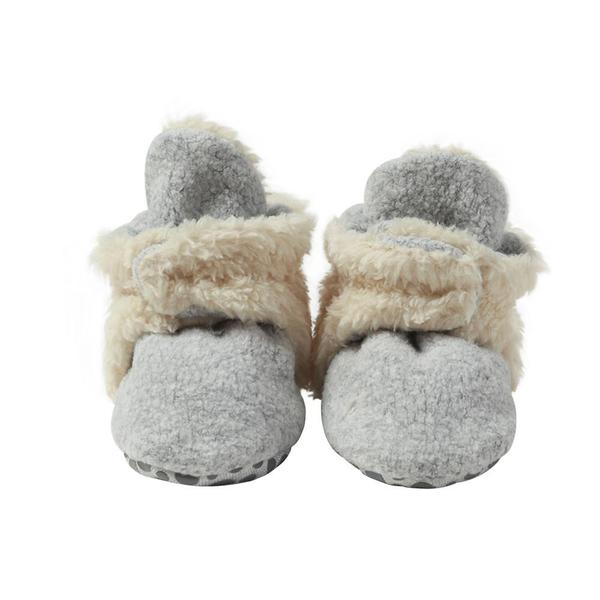 Furry Fleece Baby Booties