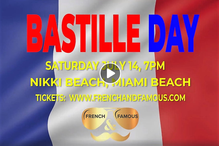 Bastille Day Teaser - French and Famous