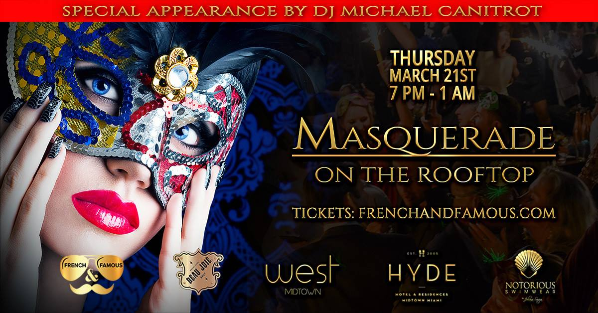 Masquerade Party 2019 by French & Famous