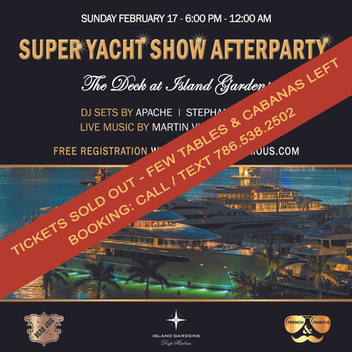 SuperYacht Show Afterparty at The Deck