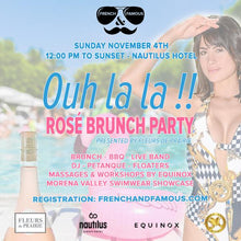 Ouh La La Sunday Funday - Rosé Brunch Party