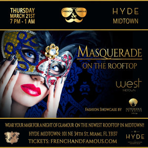 Rooftop Masquerade Party at Hyde Midtown