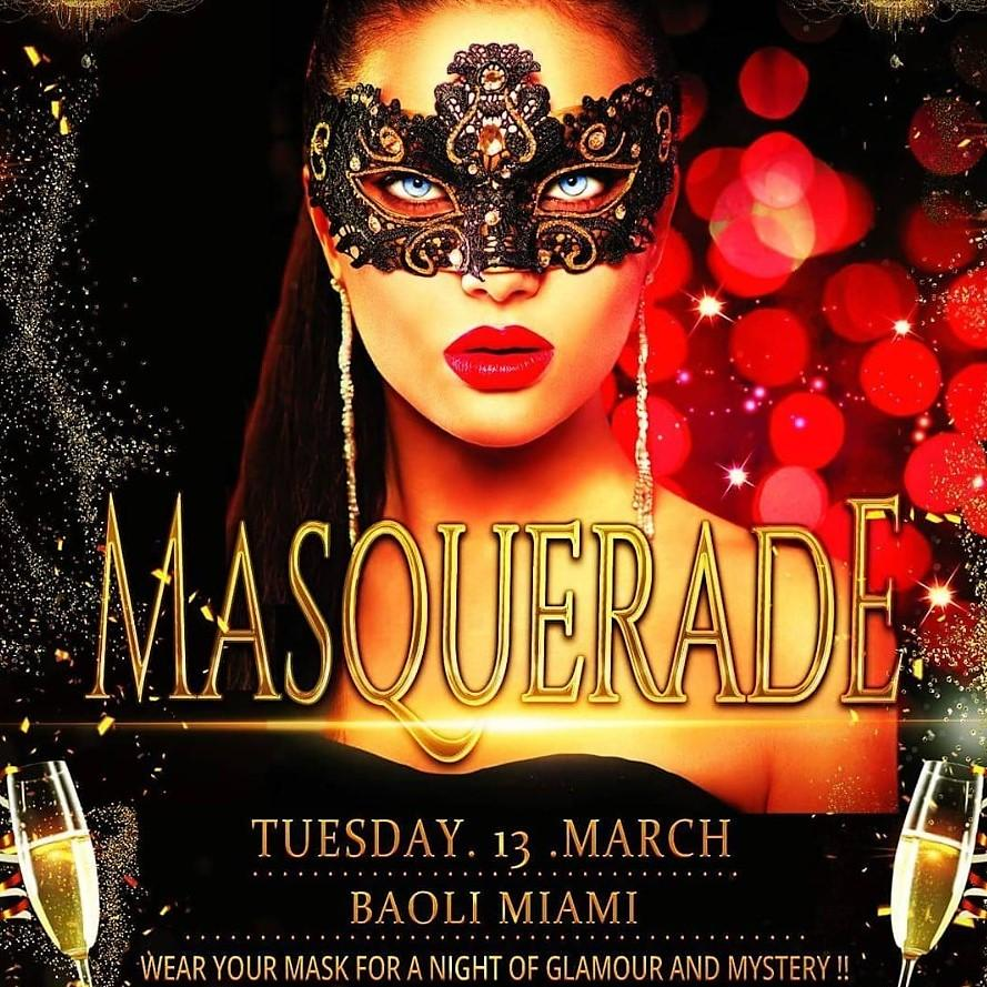 Masquerade party at Baoli by French & Famous