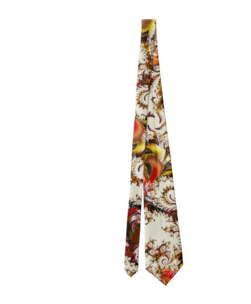 "Men's Necktie, ""Versailles"" Fractal design, Mathematical gifts, Science gifts men, Digital Print on Polyester, ties for dad, Father's Day"