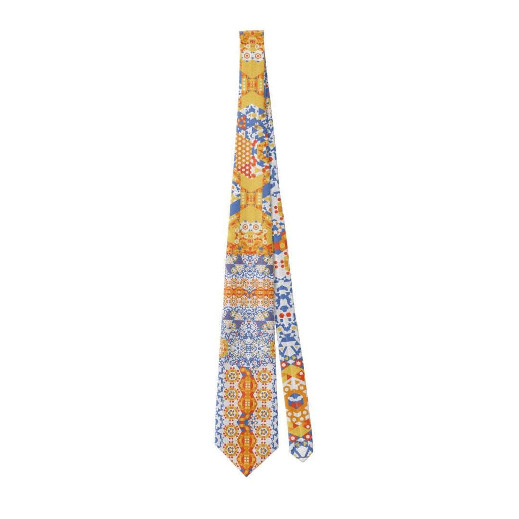 Men's Necktie, Red, Yellow, Blue, Mathematical gifts, Science gifts, gifts for men, Father's Day ZT001545P -ScarvesByEllen