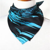 Small Blue Scarf,