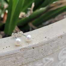 Pearl Studs Buttons 6mm
