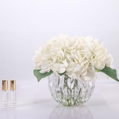 Cote Noire - Hydrangeas Clear Glass