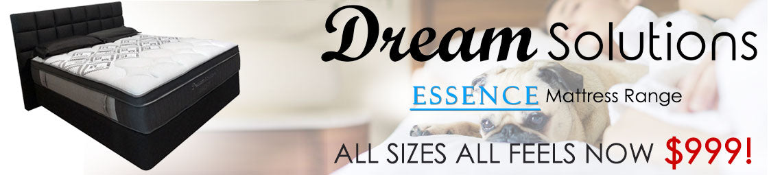 Dream Solutions ESSENCE Mattress Range SALE!
