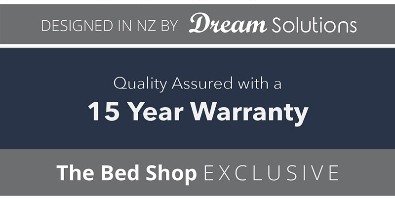 the bed shop 15 year warranty