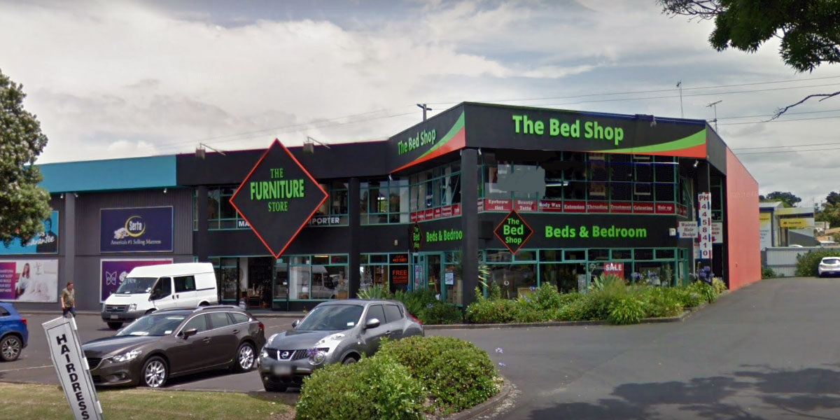 the bed shop wairau location