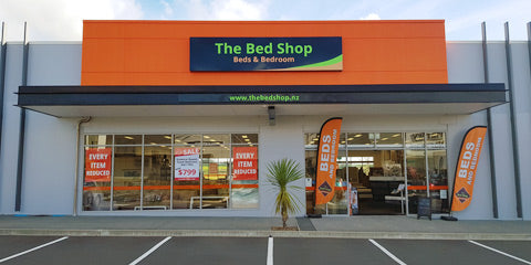 the bed shop westgate shop front