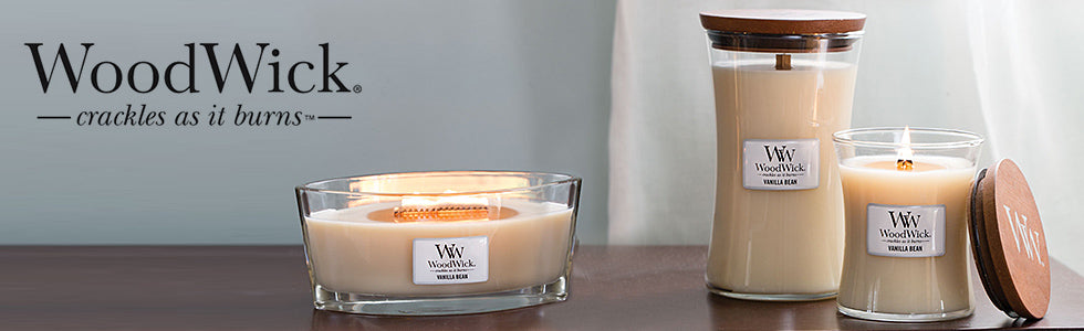 woodwick premium scented candles