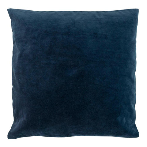 Velvet & Linen Square Cushion