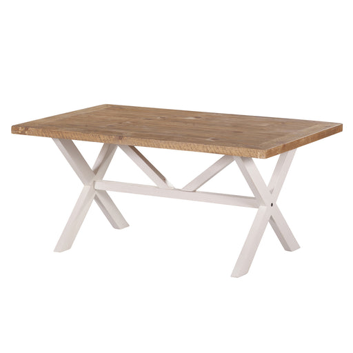 Bayswater Cross Leg Coffee Table - The Furniture Store & The Bed Shop