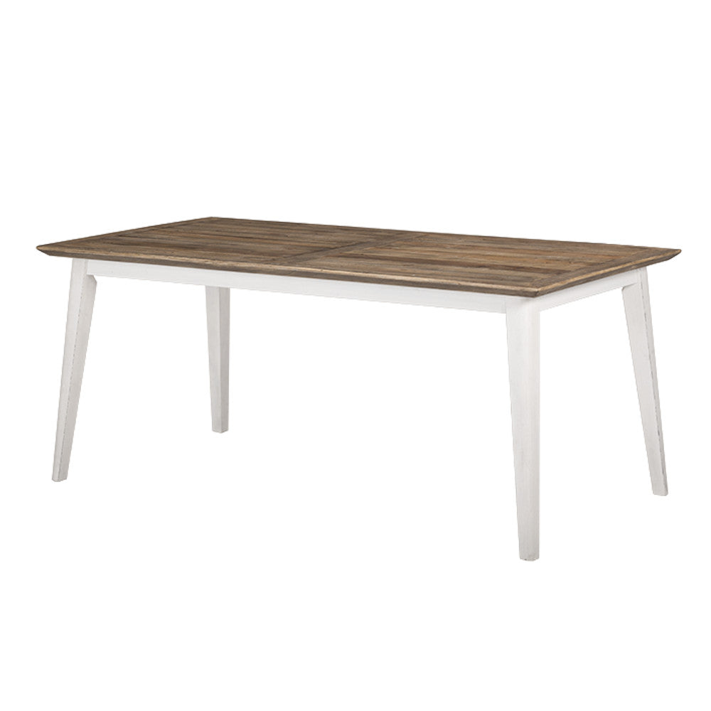 Brooklyn Dining Table - White - The Furniture Store & The Bed Shop