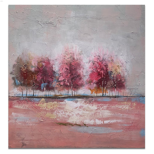 Canvas Art - Autumn Trees