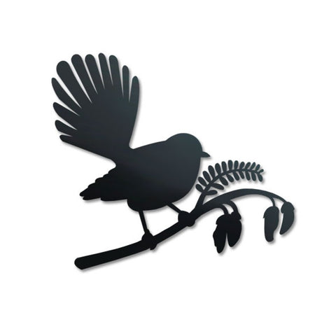 Crystal Ashley Wall Art - Fantail on Kowhai - The Furniture Store & The Bed Shop