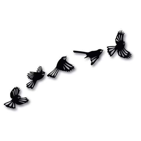 Crystal Ashley Wall Art - Flock of Fantails - The Furniture Store & The Bed Shop