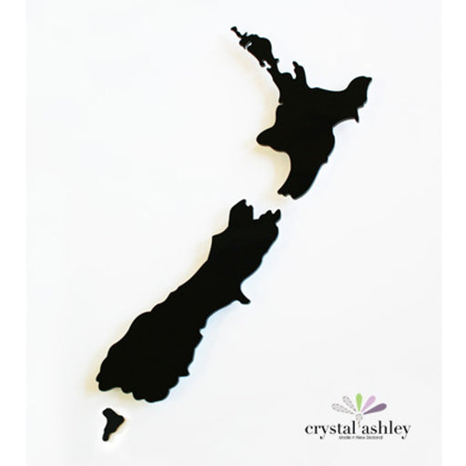 Crystal Ashley Wall Art - NZ Map - Large - The Furniture Store & The Bed Shop