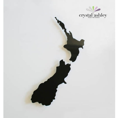 Crystal Ashley Wall Art - NZ Map - Small - The Furniture Store & The Bed Shop