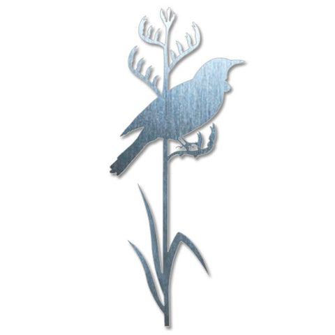 Crystal Ashley Wall Art - Tui on Tall Flax - The Furniture Store & The Bed Shop