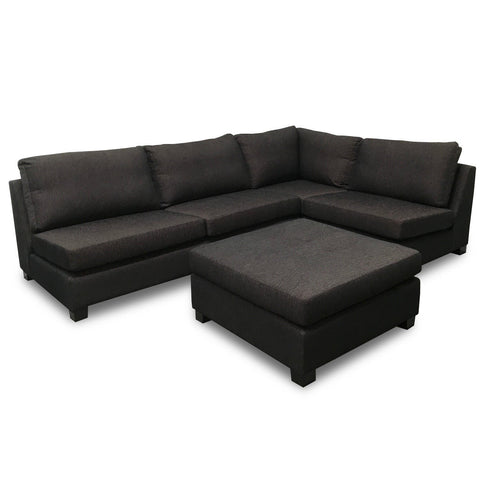 Milan Corner Suite with Ottoman