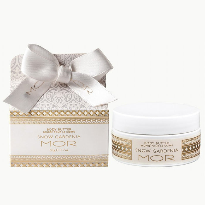 MOR Boutique Body Butter - Snow Gardenia - The Furniture Store & The Bed Shop