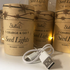 Charge & Go - Rechargeable Seed Lights - The Furniture Store & The Bed Shop