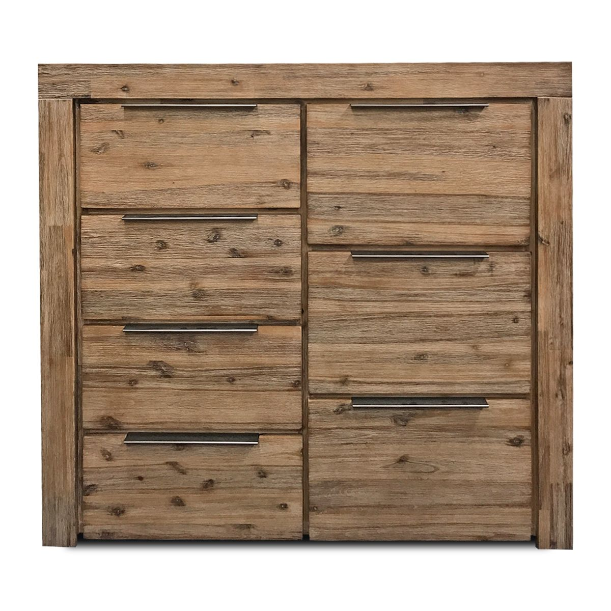 The Cape Tallboy - 7 Drawer - The Furniture Store & The Bed Shop