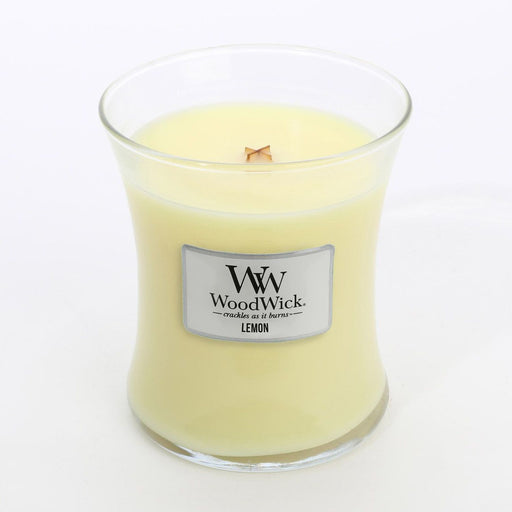 Woodwick Candle - Lemon - The Furniture Store & The Bed Shop