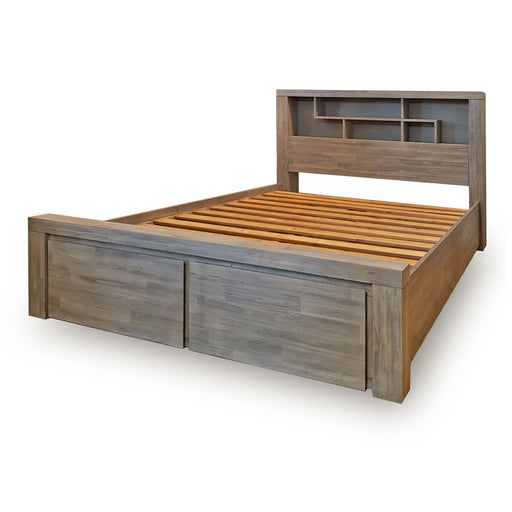 Arctic Bed Frame with Drawers