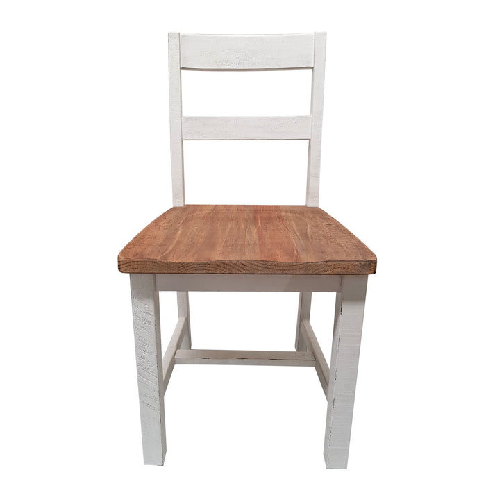Brooklyn Dining Chair- White - The Furniture Store & The Bed Shop