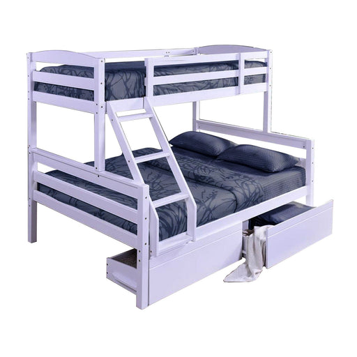 Charlie Duo Bunk Bed Frame (Single & Double) - The Furniture Store & The Bed Shop