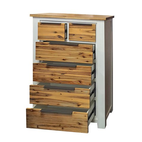 Costa Rica Tallboy - 6 Drawer
