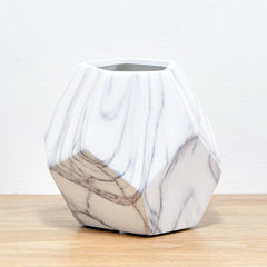 Geo Marble Vase - The Furniture Store & The Bed Shop