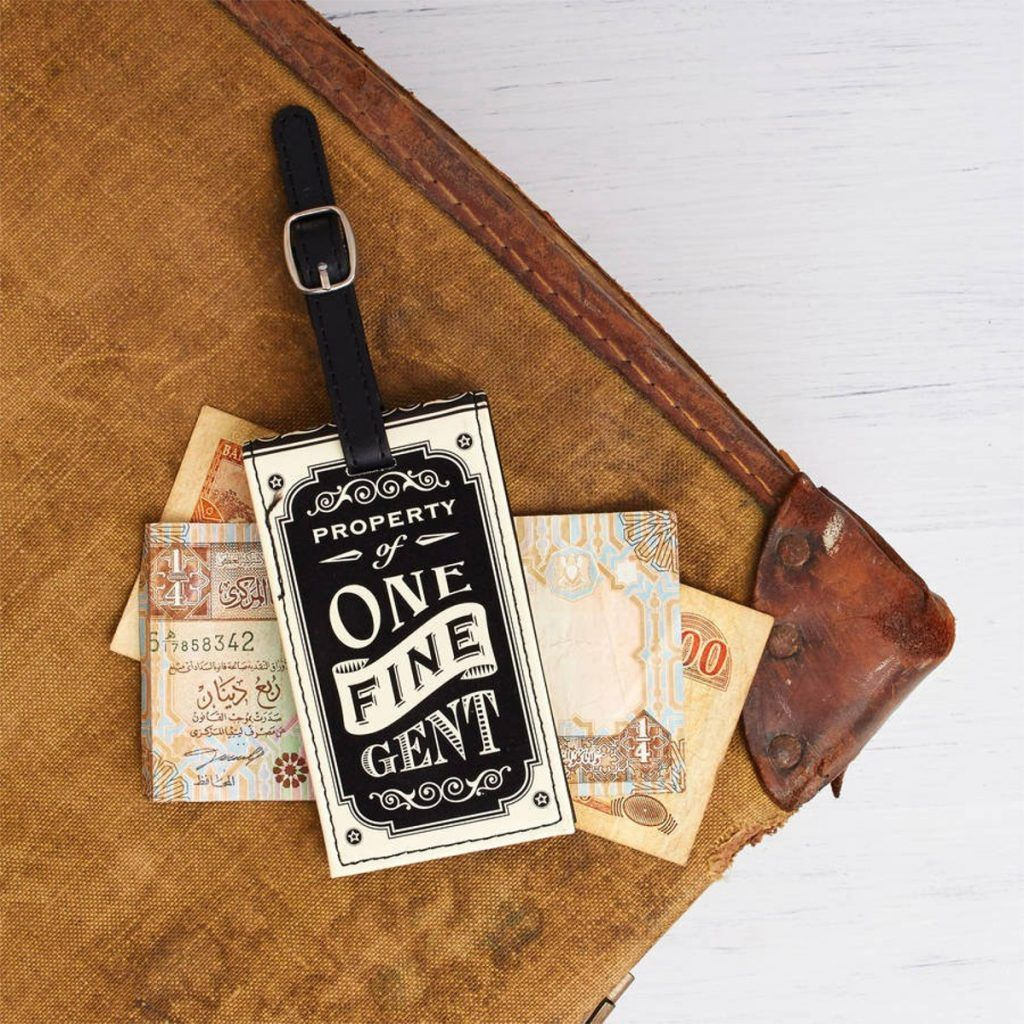 The Dapper Chap Luggage Tag Set - The Furniture Store & The Bed Shop