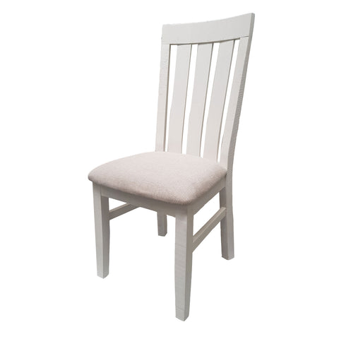 Harlow Dining / Side Chair - Upholstered Seat Pad - The Furniture Store & The Bed Shop