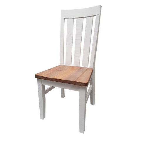 Harlow Dining / Side Chair - Wooden Seat - The Furniture Store & The Bed Shop