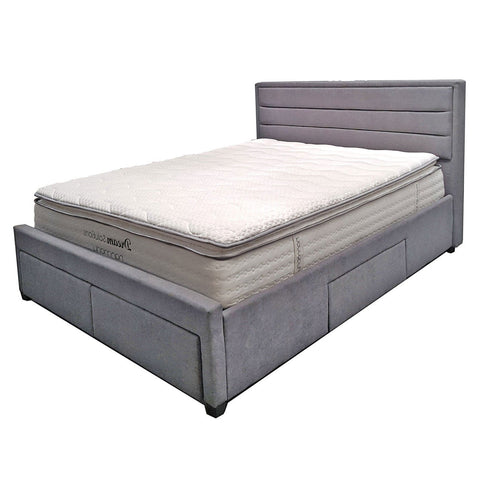 Hilton 4 Drawer Storage Bed Frame King - The Furniture Store & The Bed Shop
