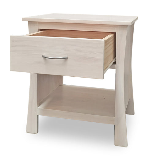 Maddison Bedside - 1 Drawer - The Furniture Store & The Bed Shop