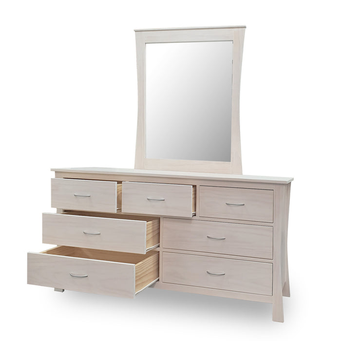 Maddison  Dresser - 7 Drawer 1500w - The Furniture Store & The Bed Shop