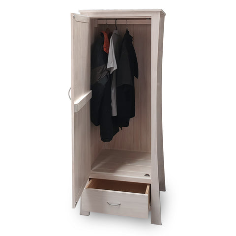 Maddison Wardrobe - Single (1 Door 1 Drawer) - The Furniture Store & The Bed Shop