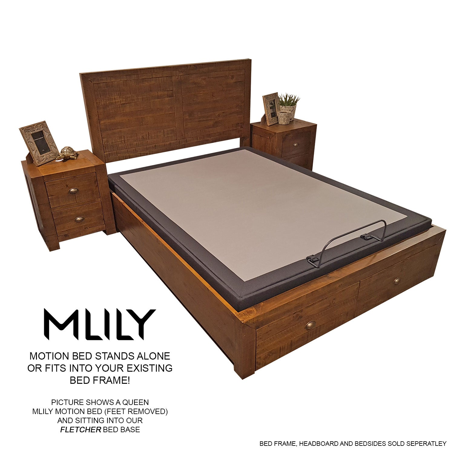 MLILY Motion Bed - The Furniture Store & The Bed Shop