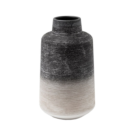 Grey & White Ombre Vase